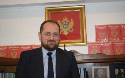 Gordan Sotjovic. El primer Embajador de Montenegro en Argentina