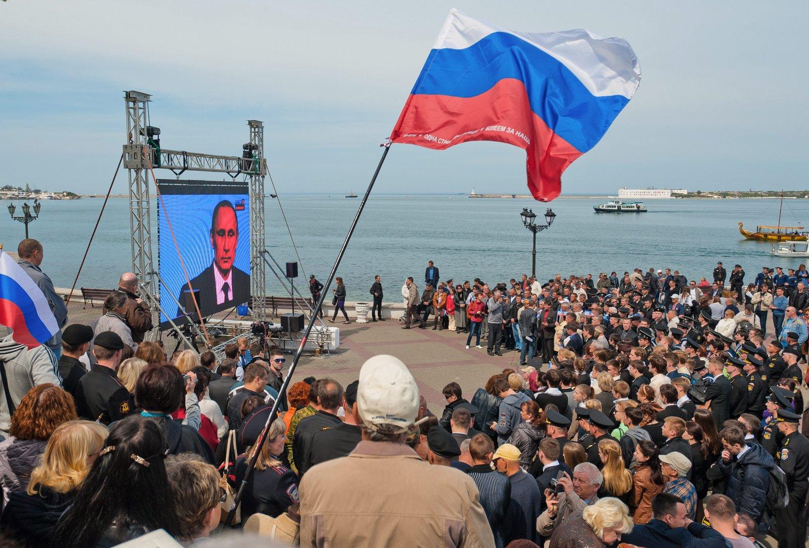 Crimea es un mensaje de Rusia al mundo entero: estamos de vuelta